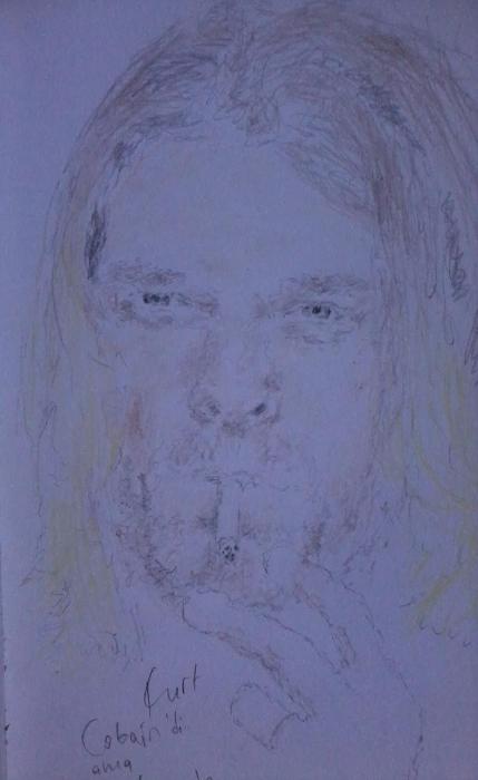 Kurt Cobain por Betul